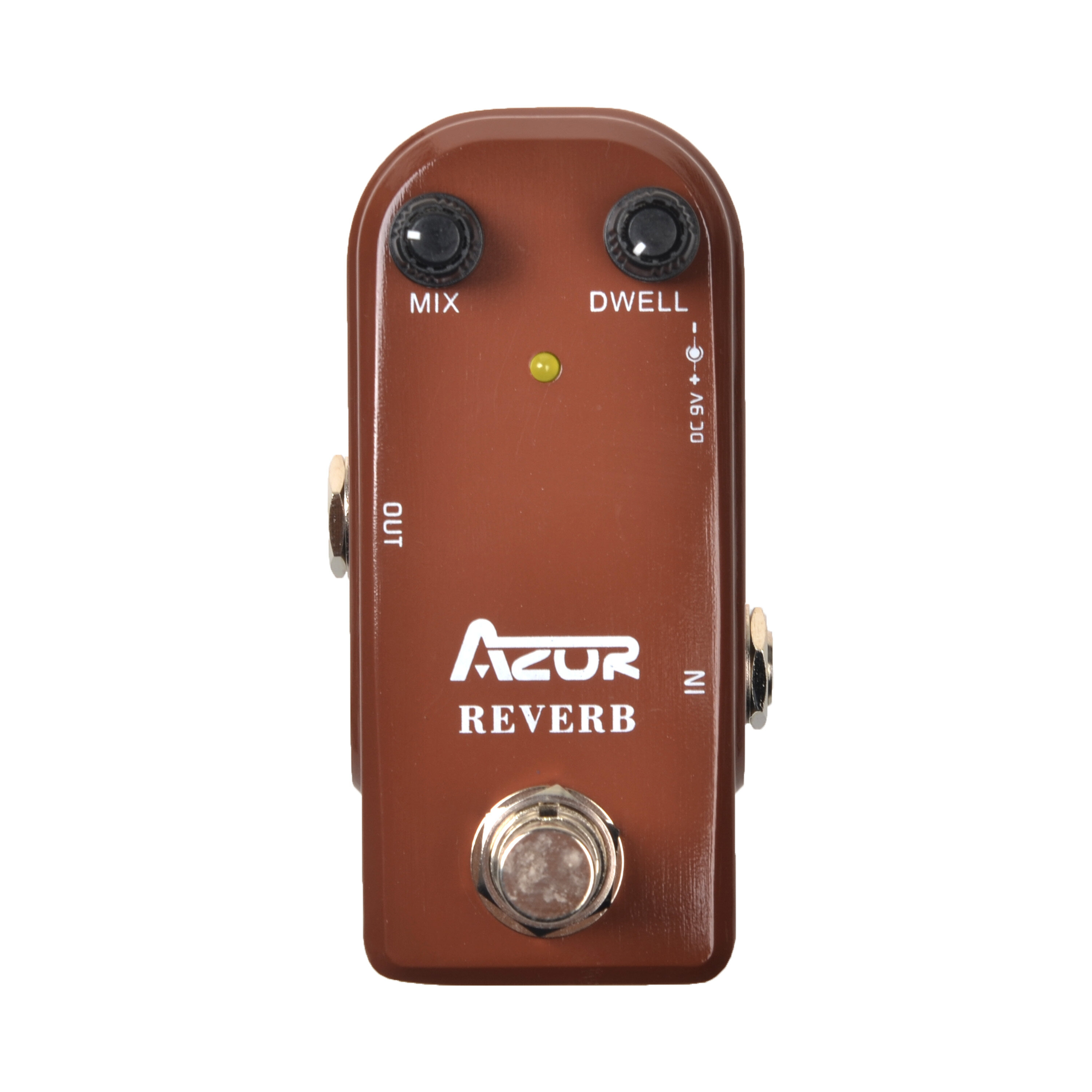 AZOR AP311 Reverb Mini Guitar Effect Pedal Reverb Mini Guitar Pedal 9V Guitar Parts Accessories Reverb Pedal Effect