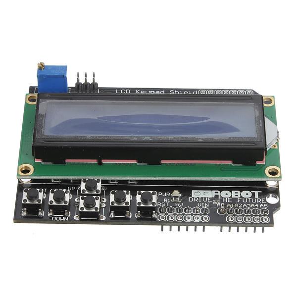 3Pcs Keypad Shield Blue Backlight For Arduino Robot LCD 1602 Board