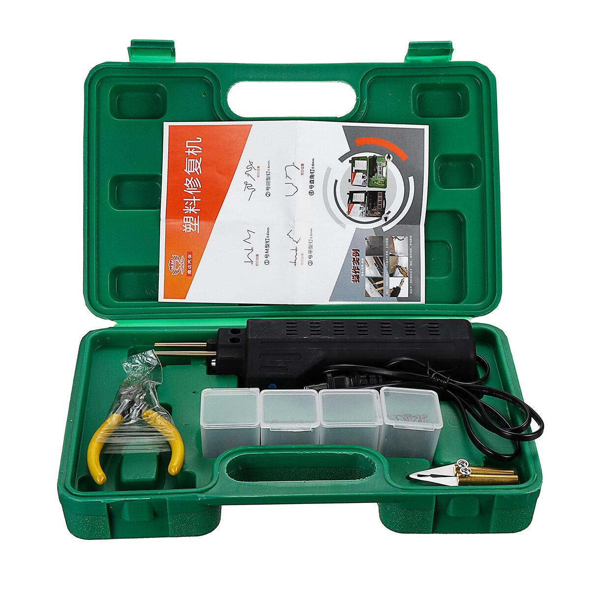 Car Shape Plastic Patch Bumper Repair Machine Tools Kit
