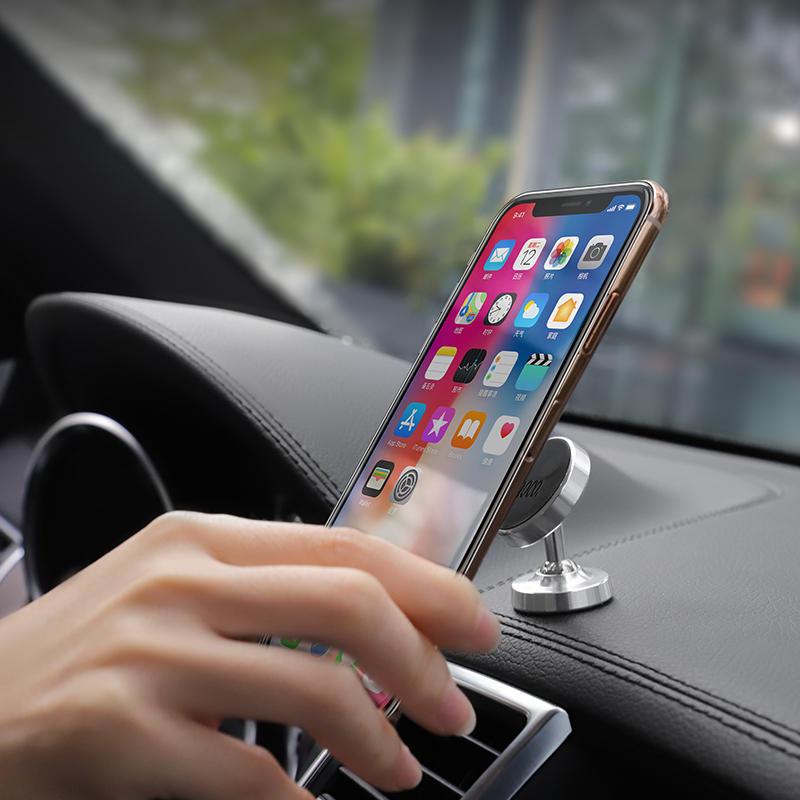 Hoco Magnetic 360° Rotation Dashboard Metal Car Phone Holder For Smart Phone iPhone Samsung Xiaomi Huawei