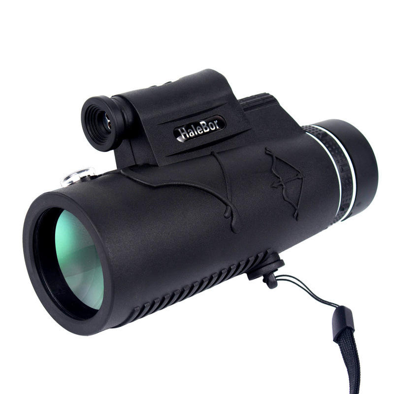 IPRee® 12X50 Monocular Waterproof Optic HD Telescope Day Night Vision With Compass Light  - buy with discount