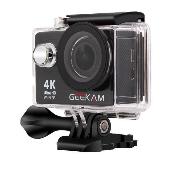 GEEKAM H9R Waterproof Ultra Hd 4K WiFi Actioncamera