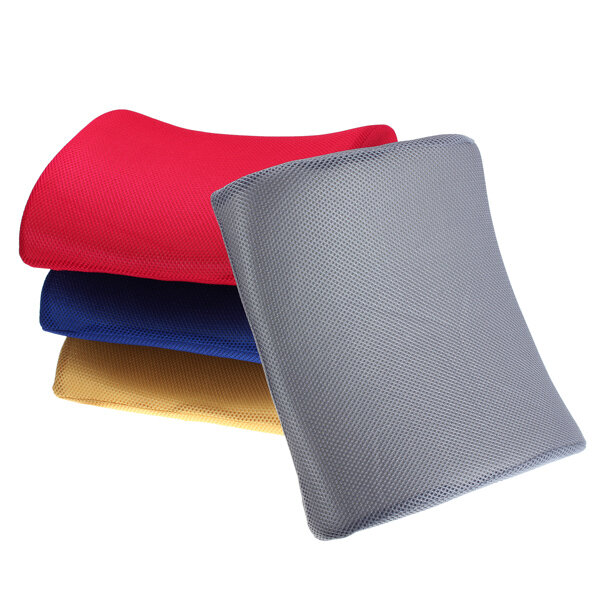 Lumbar Support Pillow Breathable Great Gift Lower Back Cushion Memory Foam