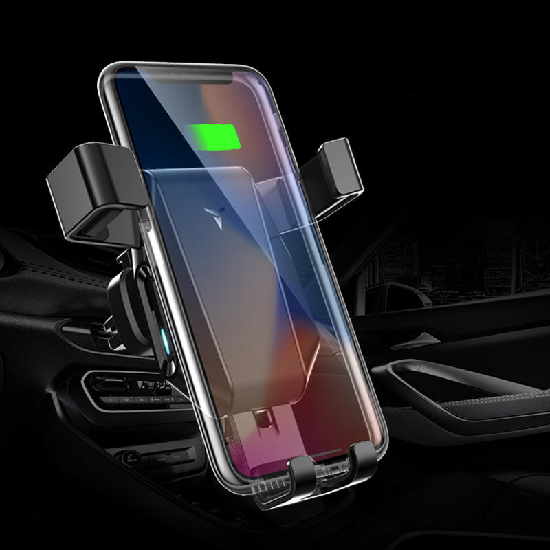 10W Qi Wireless Charger Fast Charging Quick Charge 3.0 Gravity Air Vent Car Phone Holder For Smart Phone iPhone Samsung фото