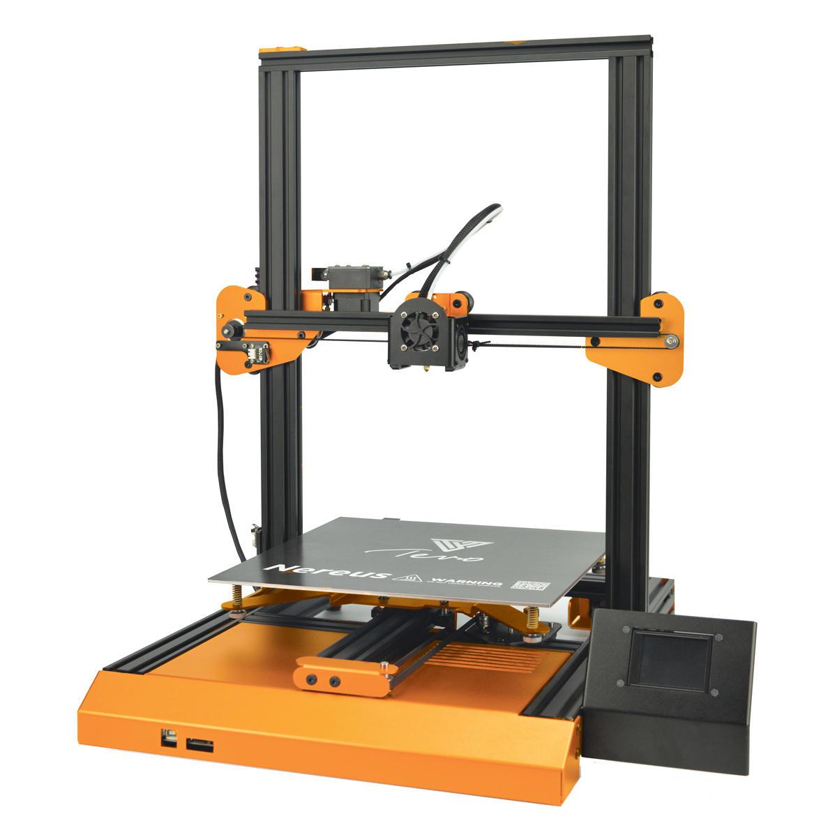 TEVO® Nereus Basic 3D Yazıcı Kit 320 * 320 * 400mm Baskı Boyutu Destek Filament Algılama / Özgeçmiş Dokunmatik Ekranla Yazdır