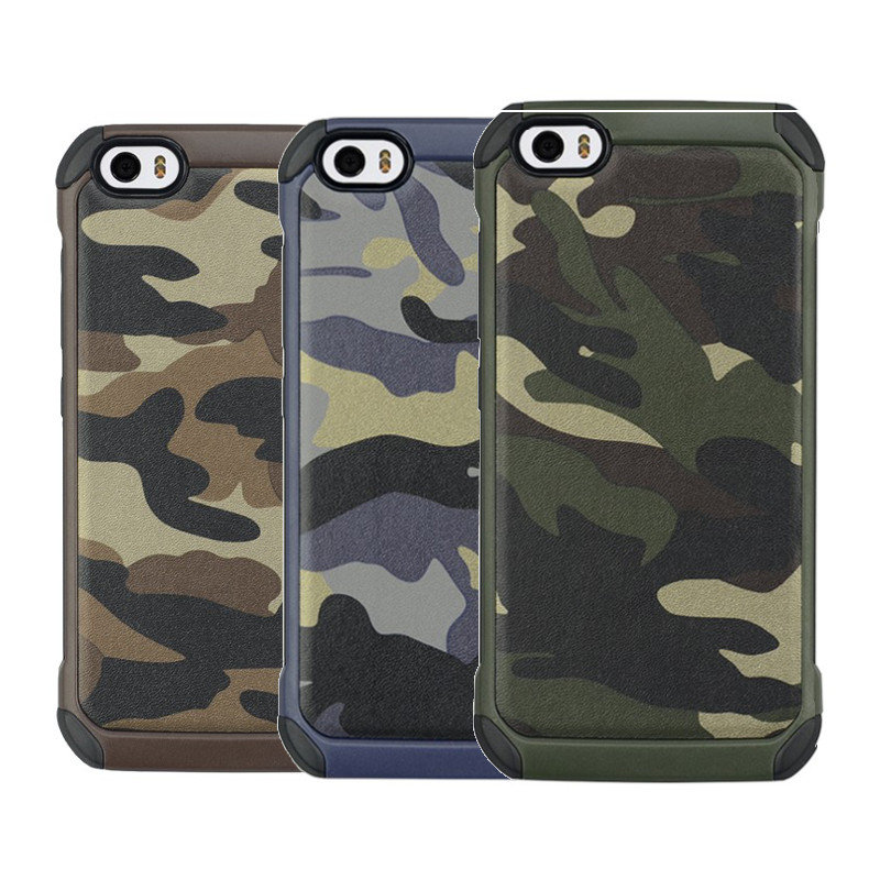 buy popular cab3e 53ab1 Camouflage Hybrid Hard PC Back & TPU Cover Shockproof Case For Xiaomi Mi5
