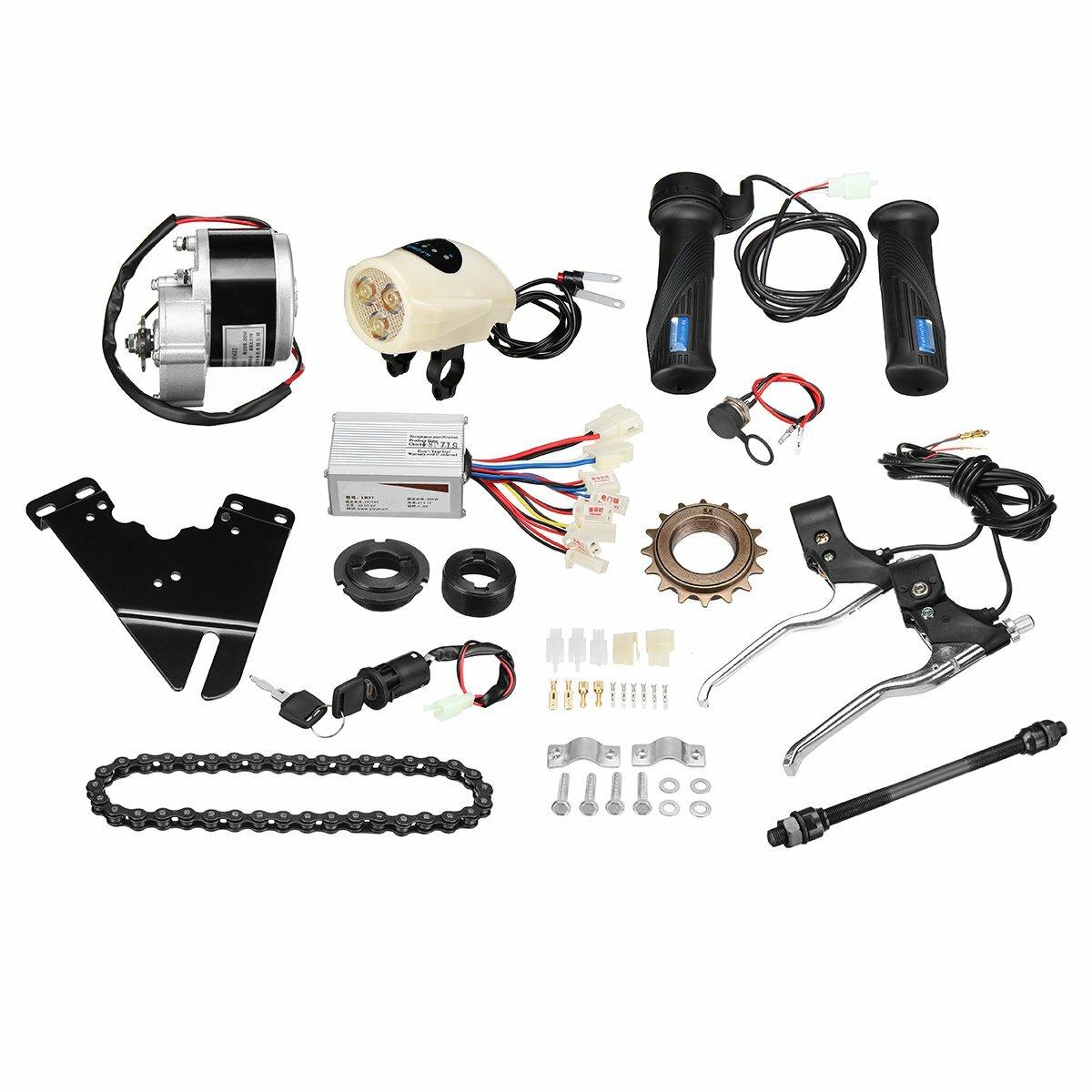 Equipo eléctrico del regulador de la vespa motor de la conversión de la bici de 24V 250W para la bici ordinaria 22-28inch