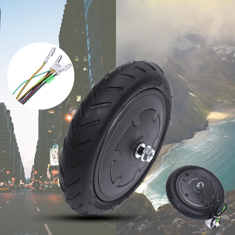 250W Motor 8.5in Explosion-proof Scooter Wheel Tire Inflatable Tyre for Xiaomi Electric Scooter Replacement
