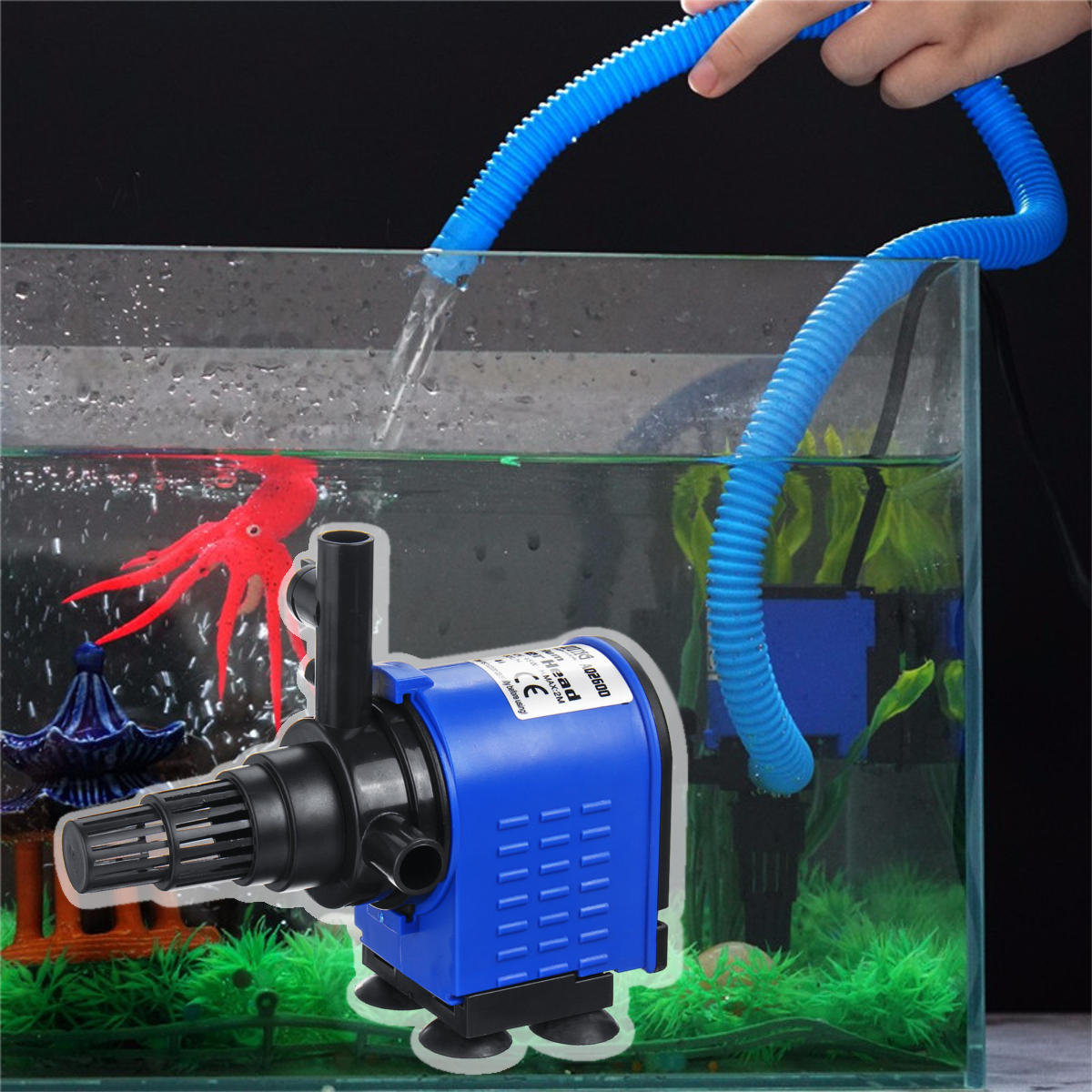 3 In 1 Submersible Aquarium Filter Pump Fish Tank Pond Fountain Water Filter Pump Sale Banggood Com