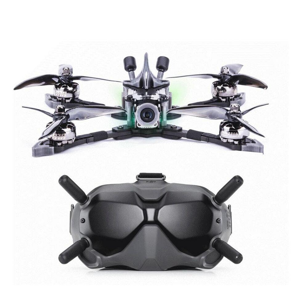 Flywoo Vampire2 HD 210mm F7 Bluetooth 6S 5 Inch FPV Racing Drone BNF w/ DJI Air Unit & Goggles