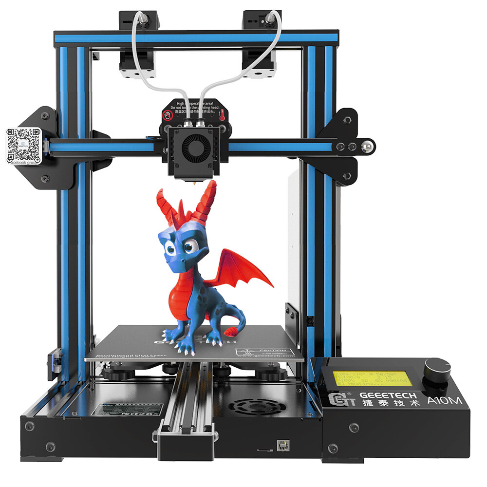 Geeetech® a10m mix-color prusa i3 3d printer 220*220*260mm ...