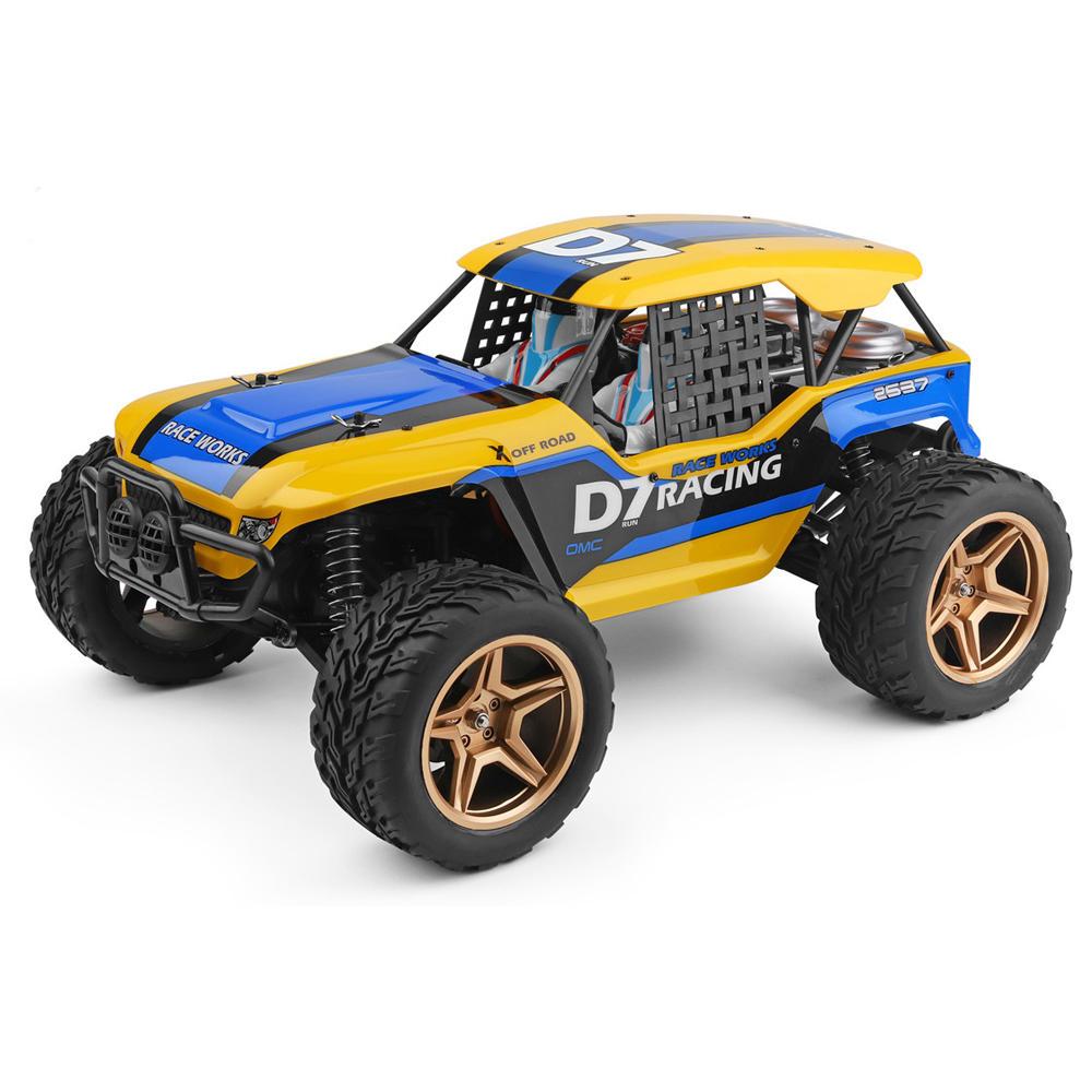 Wltoys 12402-A 4WD 1/12 2.4G RC Car Dessert Baja Vehicle Models High Speed 45km/h