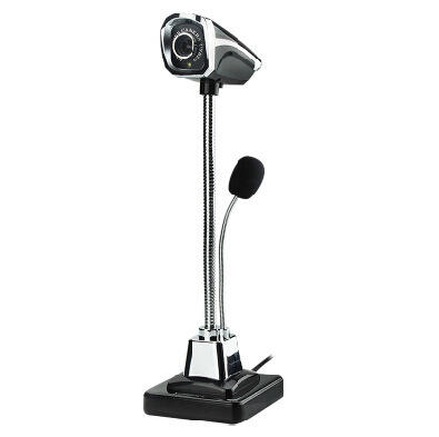 X-LSWAB USB Laptop Camera 360-degree 80W Pixels 480P HD Resolution With Microphone For Notebook
