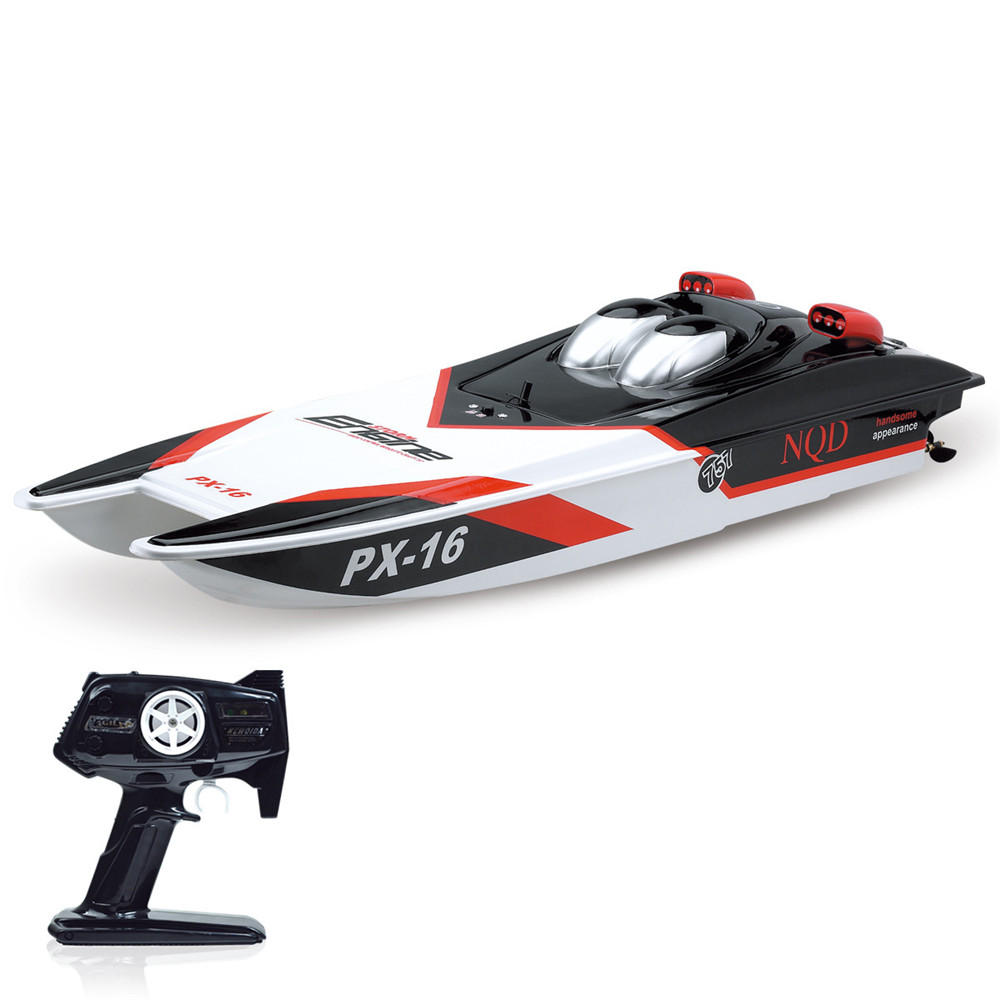 NQD 757T 6016 2.4G Electric RC Boat Storm Engine Vehicles with Double Motor RTR Model