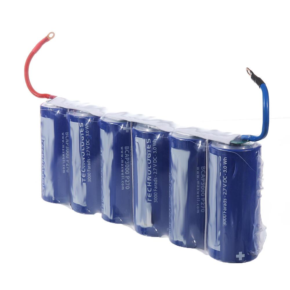 FOR Maxwell 2.7V 3000F Supercapacitor Ultra Capacitor 3000f Farads BCAP3000 #