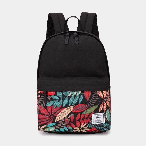 Миниатюрный рюкзак большой емкости с принтом для мужчин и Женское