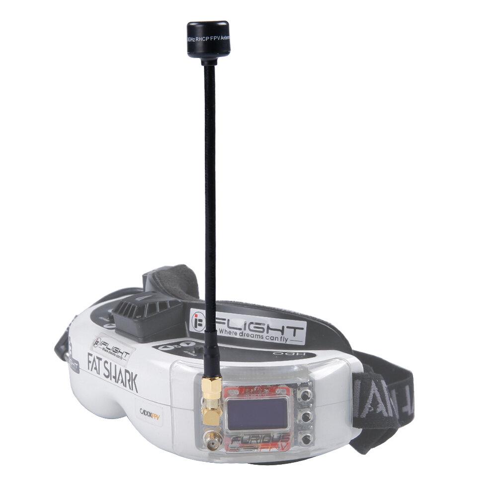 iFlight 15CM 5.8G 2dBi Pagoda Omni-directional Receiver FPV Antenna RHCP SMA for RC Drone - SMA Male