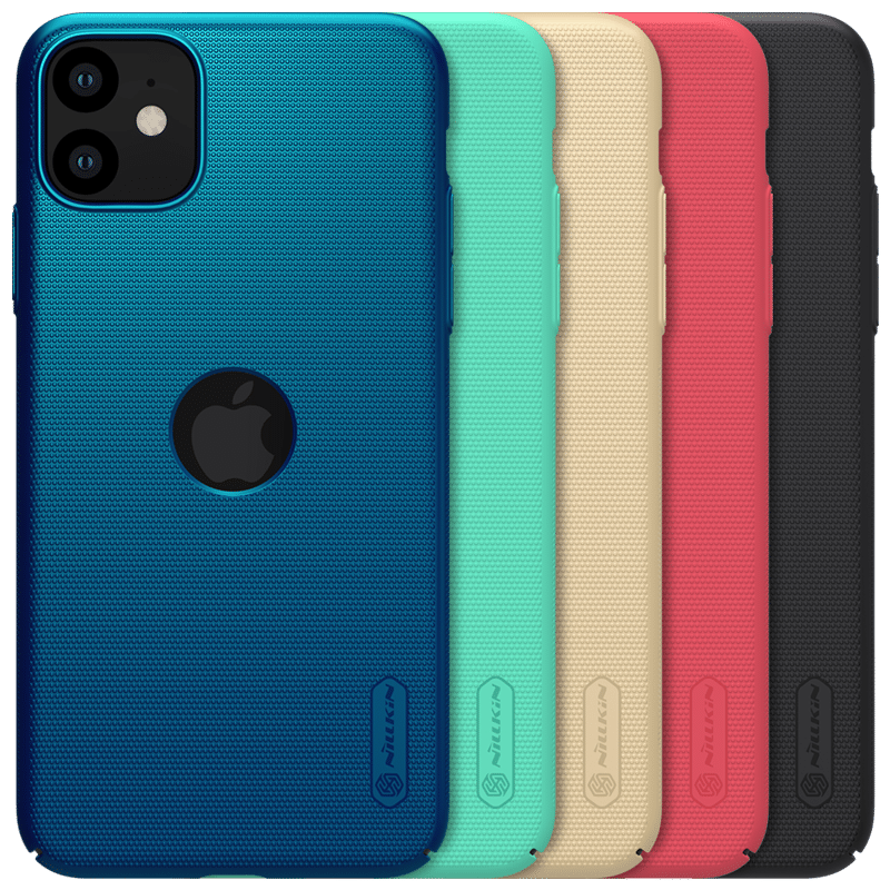 NILLKIN Luxury Frosted Shockproof Shield PC Hard Protective Case for iPhone 11 6.1 inch