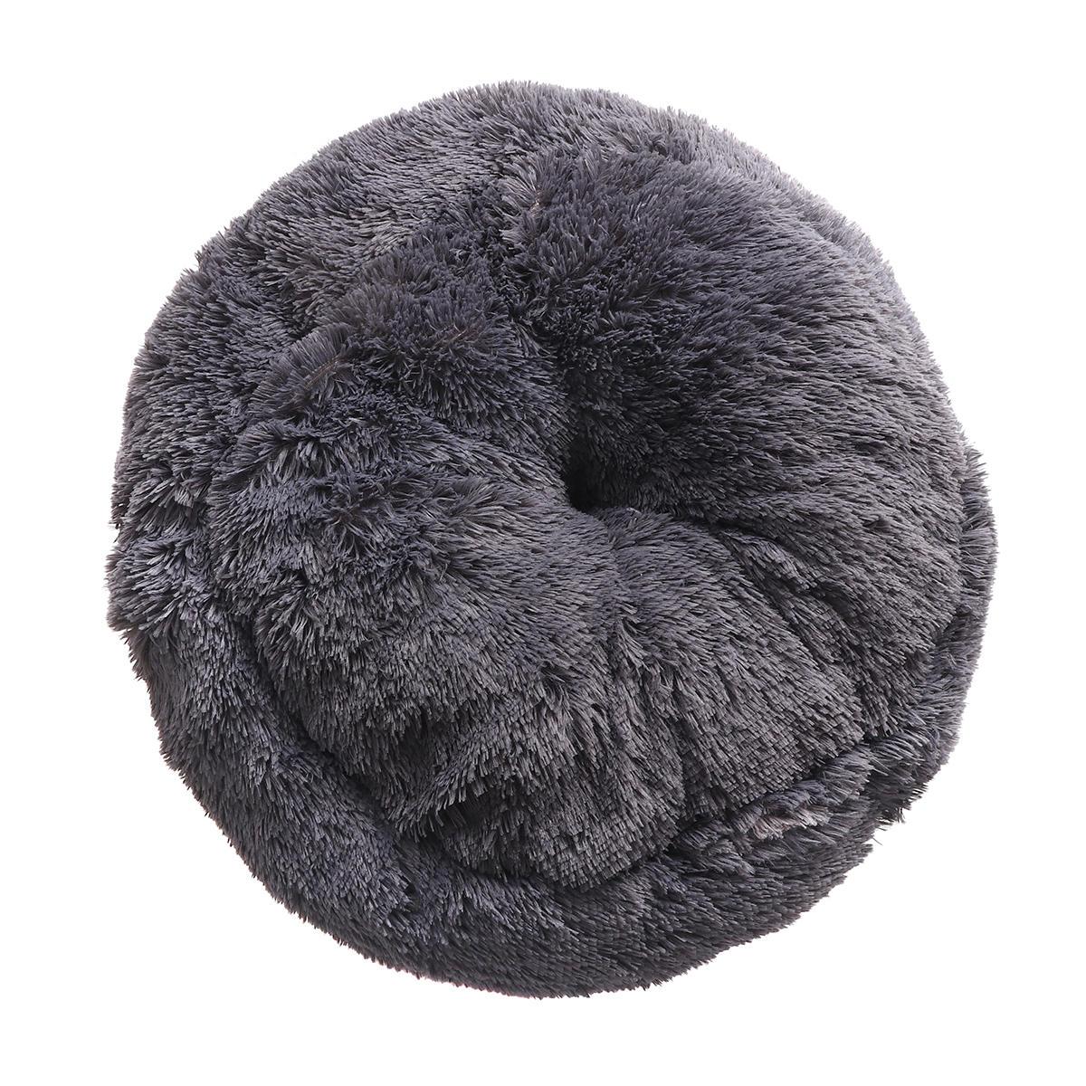 冬洗えるラウンドSoftペット犬猫暖かいマット睡眠ベッドマット