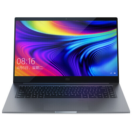 Xiaomi Mi Laptop Pro 15.6 inch Intel Core i7-10510U NVIDIA GeForce MX250 16GB DDR4 RAM 1TB PCle NVMe SSD 100% sRGB Fingerprint Sensor Notebook - Gray