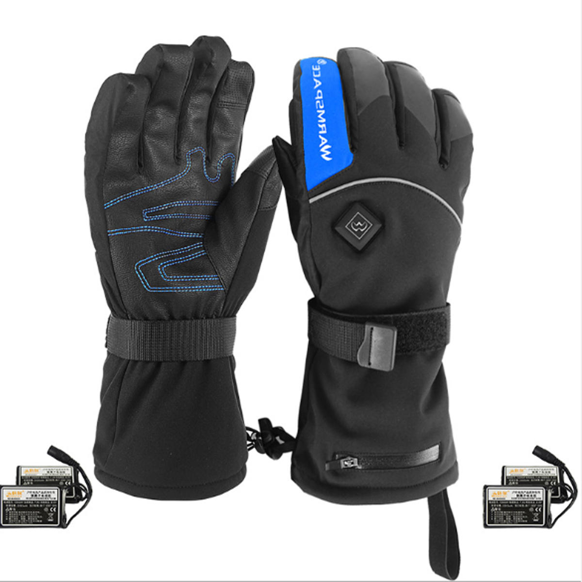 Motorcycle Gloves Electric Heated Winter Warm Thermal Ski Snowboard
