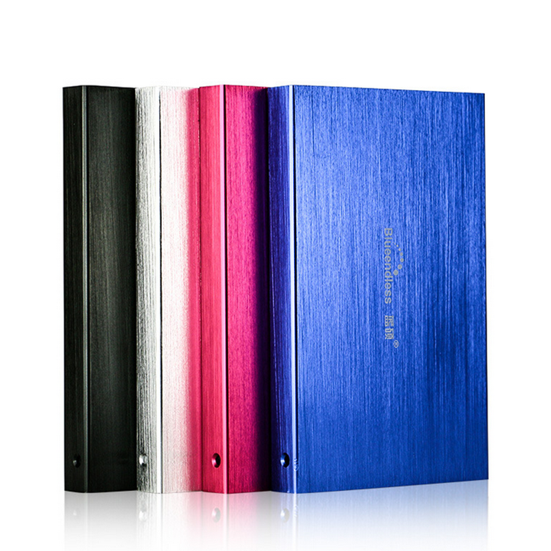 "Blueendless U23YA USB 3.0 to SATA 2.5"" HDD SSD Hard Drive Enclosure 5Gbps Aluminum Alloy  for SATA Mobile Hard Disk"