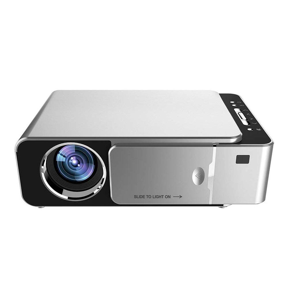 WZATCO T6 Android 9.0 LCD Projector 2600 Lumens 1280x800P Support 1080P 4K Online Video Home Theater Projector