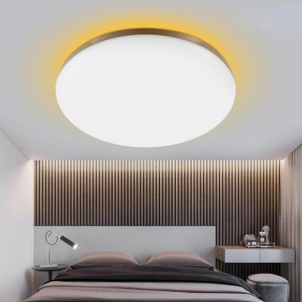 YEELIGHT GUANGCAN YLXD50YL 220V 50W Surrounding Ambient Lighting LED Ceiling Light Upgrade Version Dimmable APP Control Supports HomeKit (Xiaomi Ecosystem Product) Coupon: BGGC50YL �84