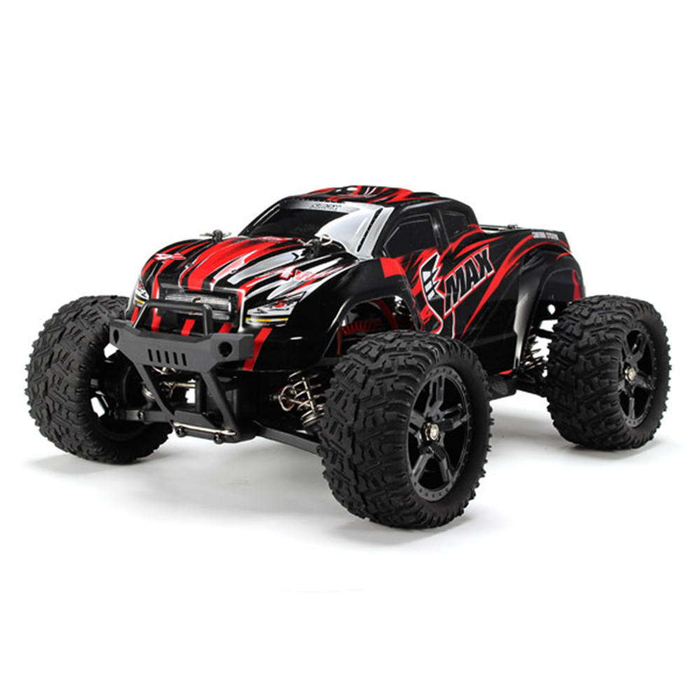 REMO 1635 1/16 2.4G 4WD Waterproof Brushless Off Road Monster Truck RC Car Vehicle Models Red