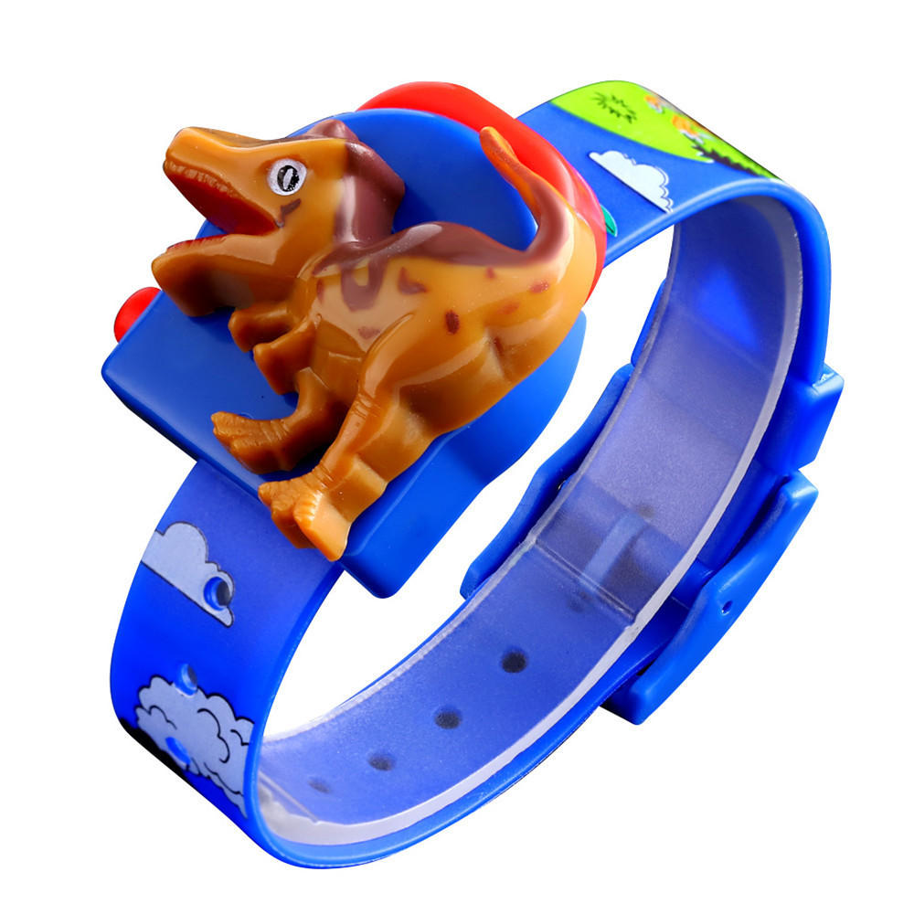 SKMEI 1468 Dinosaur Shape PVC Strap LED Display Cartoon Digital Watch Kids Watch