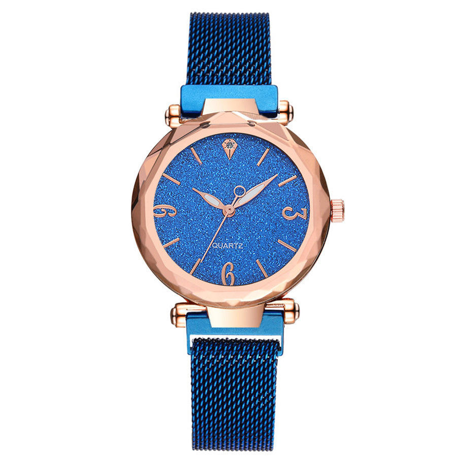 DEFFRUN A312 Simple Design Milanese Steel Star Women Watch фото