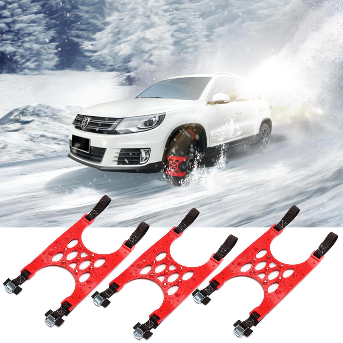 TPU यूनिवर्सल कार टायर स्टील वायर स्नो चेन सूट 165-265 मिमी सभी स्टील अर्द्ध स्टील विरोधी पर्ची सर्दियो