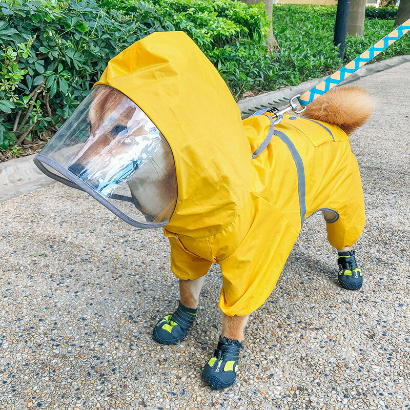 Pet Dog Raincoat Just $12.99!