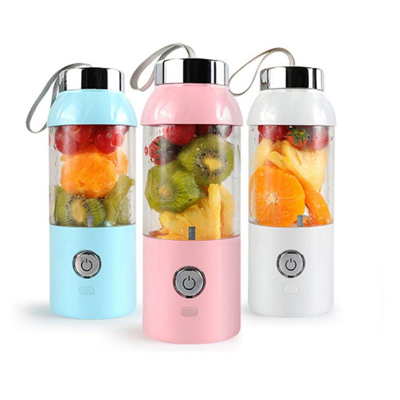 550ml 60W USB Electric Fruit Juicer Bottle DIY Shaker Blender Juicing Extracter Cup