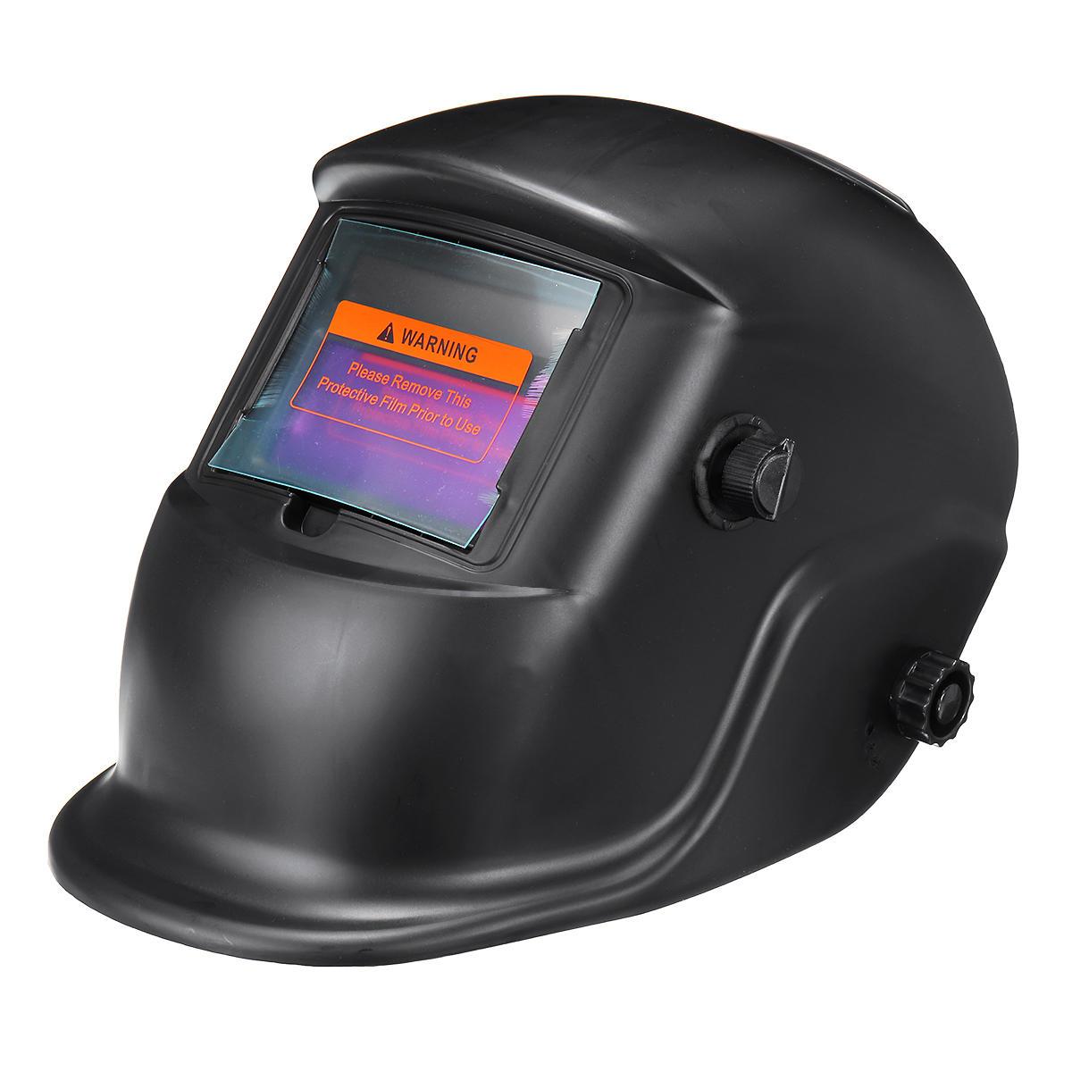AUG Auto Darkening Welding Helmet Mask Welders Grinding Function Solar Powered
