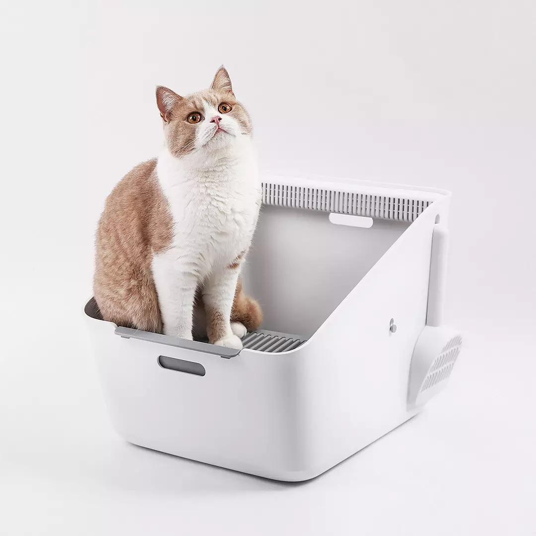 Petkit Inductive Net Smell Cat Toilet Detachable Multi-Effect Net Odor Inhibition Cat Toilet Training Cat Supply From Xiaomi Youpin