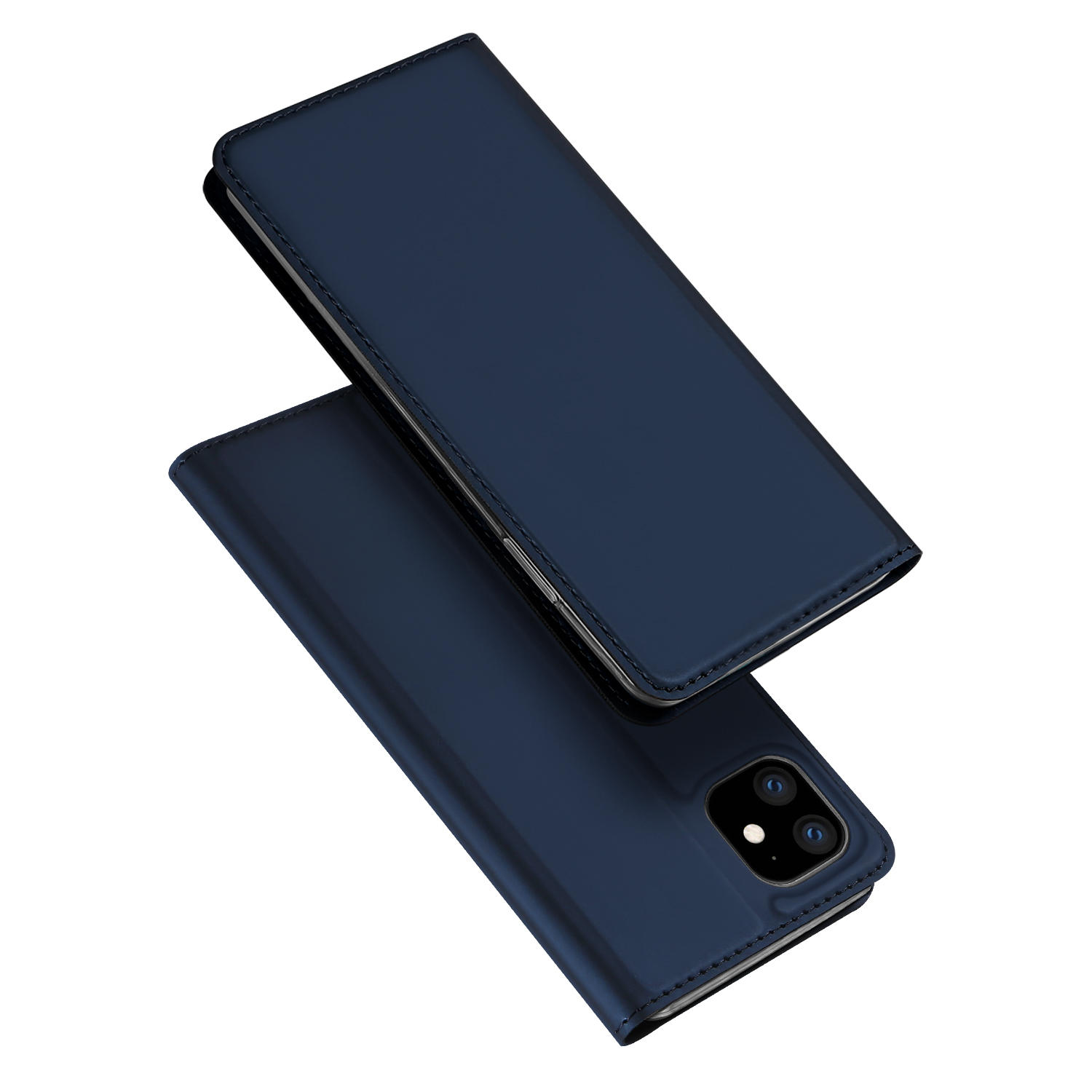 DUX DUCIS Flip Magnetic Shockproof with Card Slot PU Leather Protective Case for iPhone 11 Pro Max 6.5 inch