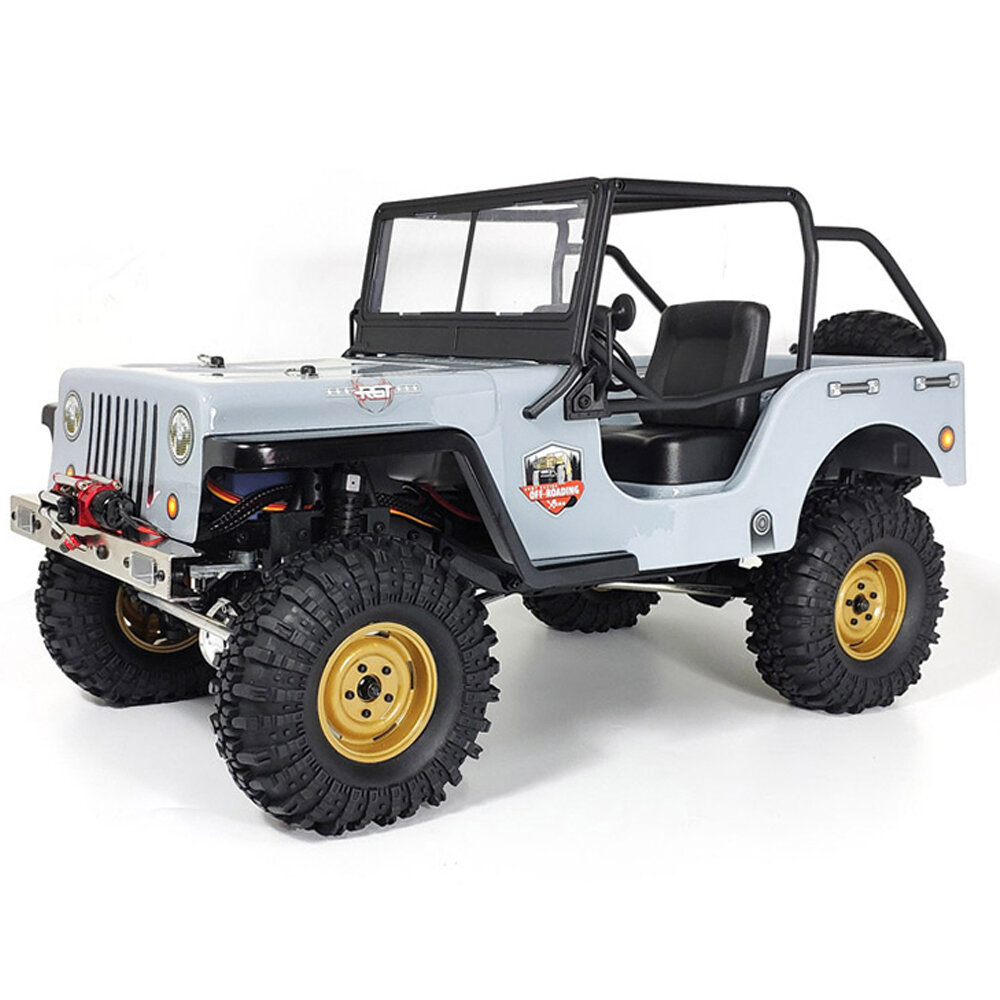 RGT EX86010 CJ 1/10 2.4G 4WD Crawler Climbing Truck Waterproof RC Car Vehicle Models