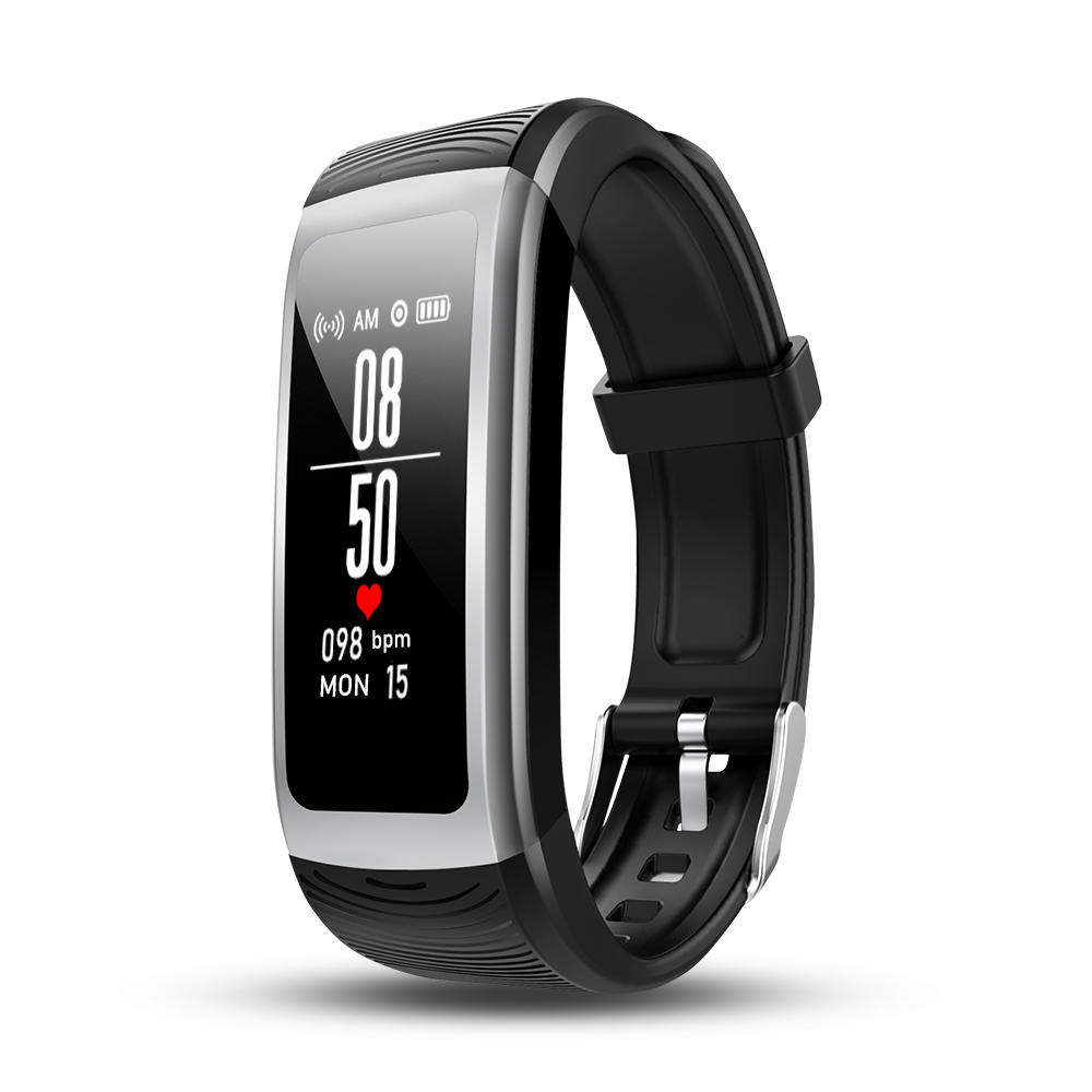 Bakeey B11 1.14' Multiple Interface Real-time Heart Rate Blood Pressure TestFitness USB Charging Smart Watch Band фото