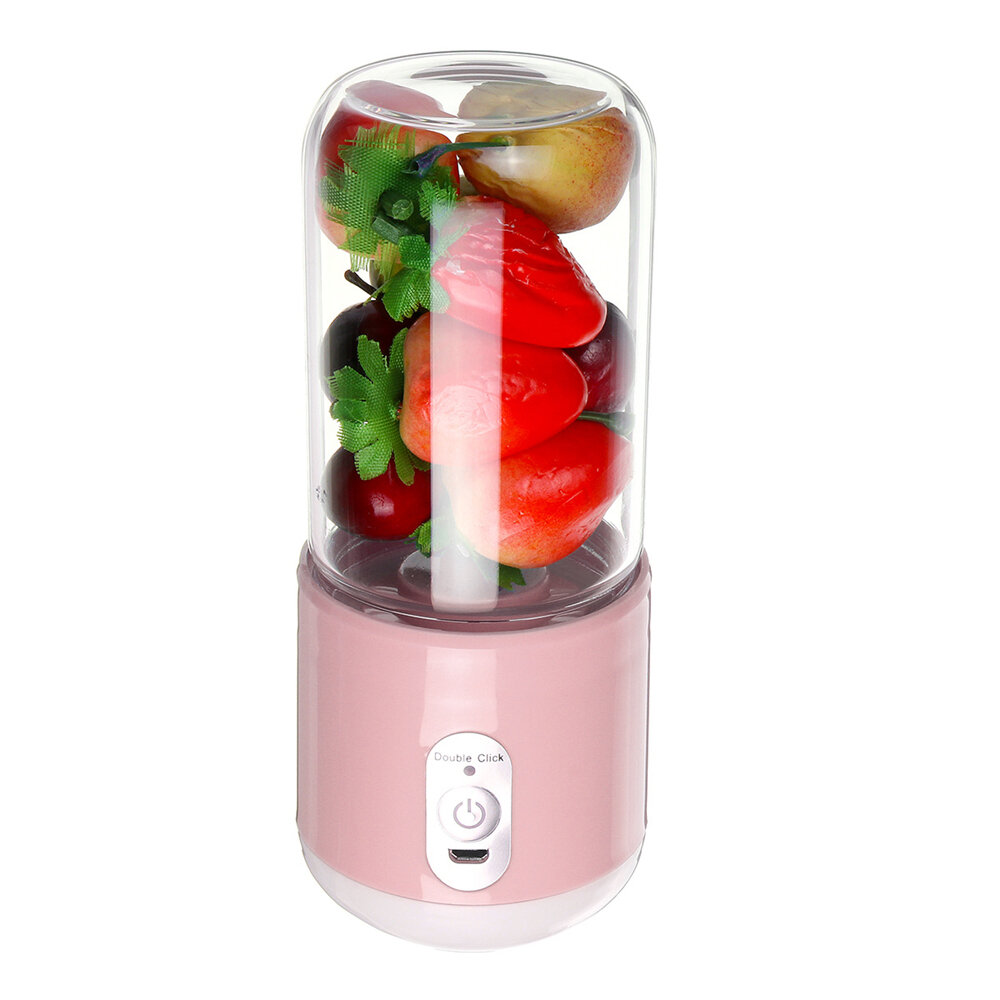 Bakeey 260ml USB Rechargeable Portable Electric Juice Cup Six Blade Mixing Machine Smoothies Baby Food Blender Extractor