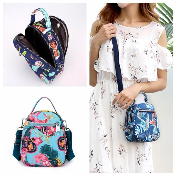 Trending Printed Crossbody Phone Bag Lightweight Shoulder Bag For Women