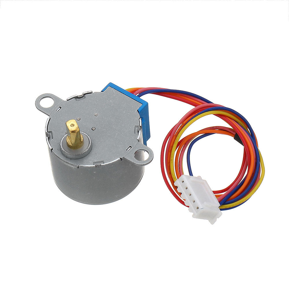 5pcs 28BYJ-48 5V 4 Phase DC Gear Stepper Motor DIY Kit Geekcreit for Arduino - products that work with official Arduino
