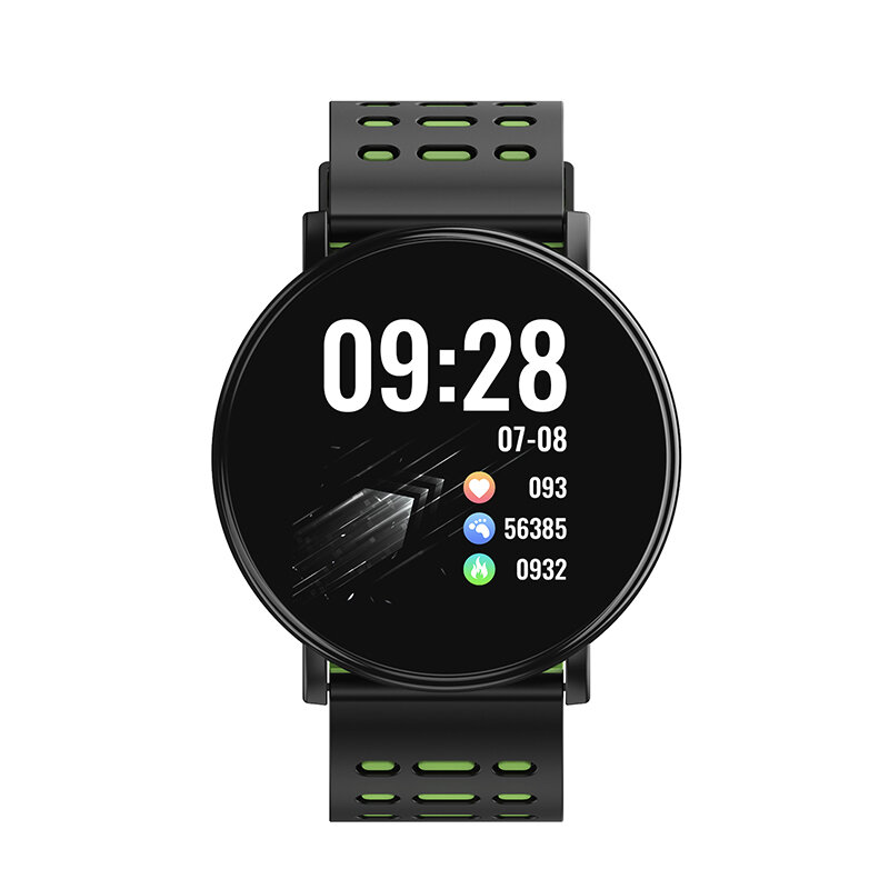 Bakeey D19 1.3inch Color Screen Heart Rate Blood Pressure Oxygen Monitor IP68 Waterproof Smart Watch