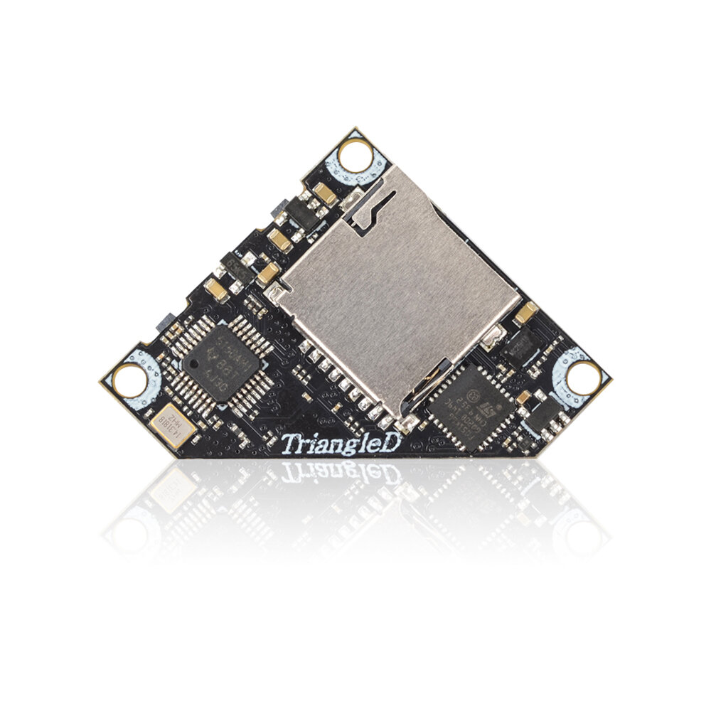 Eachine TriangleD 5.8G 40CH 25/100/200/400mW Switchable Triangle AV FPV Transmitter VTX With DVR Support Smart Audio Tramp for Tinywhoop Mobula RC Drone