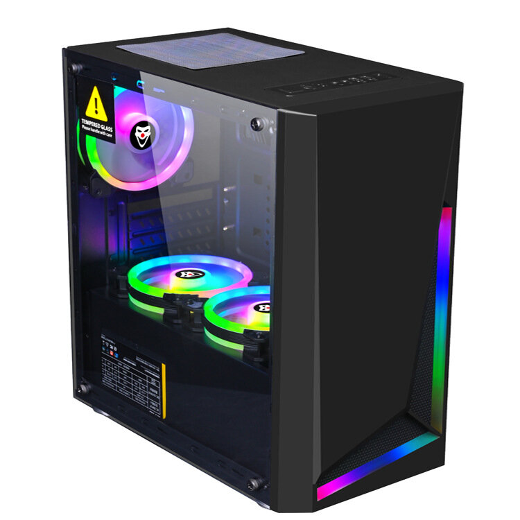 Dream Computer Gaming Chassis RGB Computer Case Micro ATX ATX Mini-ITX PC Case Desktop Chassis USB 3.0