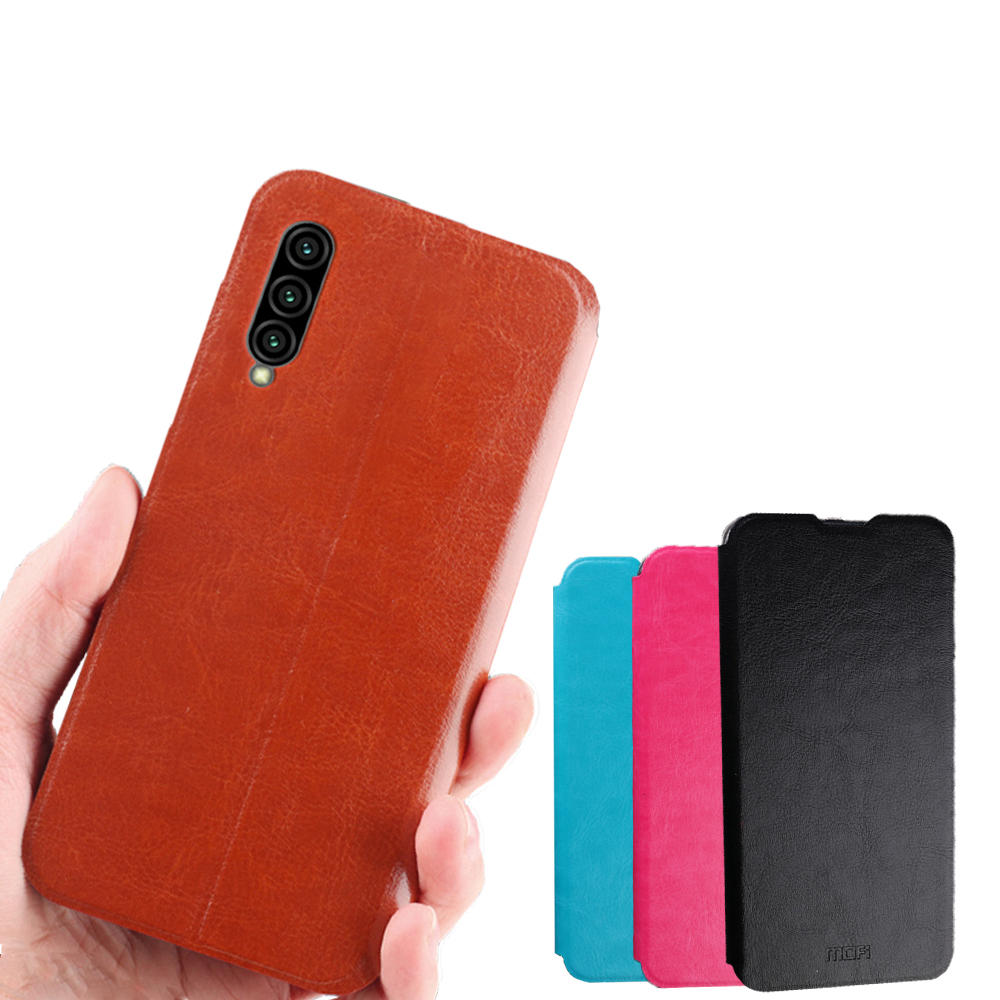 Mofi Shockproof Flip PU Leather Full Cover Protective Case for Xiaomi Mi9 Mi 9 Lite / Xiaomi Mi CC9 / Xiaomi Mi A3 Lite