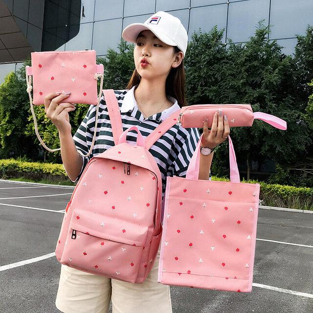Ancient Sense Girl Bag Female Small Fresh College Wind Students Backpack Handbag