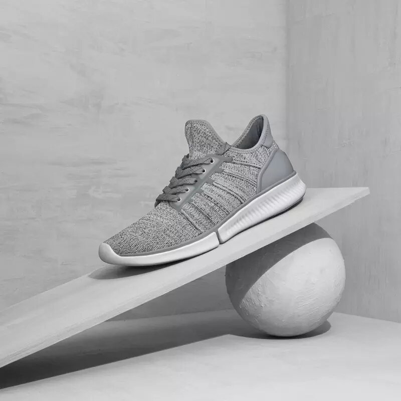 Xiaomi Mijia Sneakers 1 Fly Knit Ultrlight Non-Slip Shock Absorption Men Sneakers EVA+Rubber+TPU Insoles 3D Fishbone Lock System Sports Running Shoes Casual Shoes