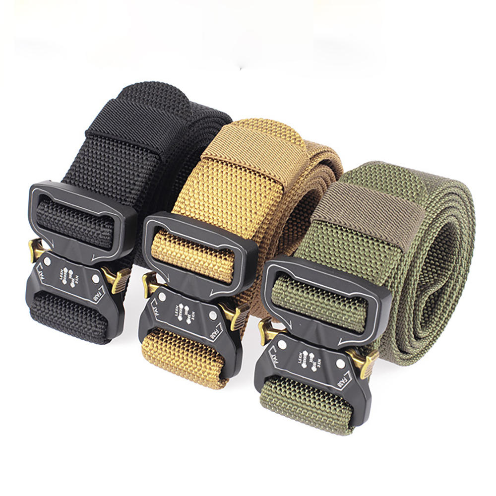 Xmund XD-TB4 125cm Military Fan Quick Release Buckle Tactical Belts