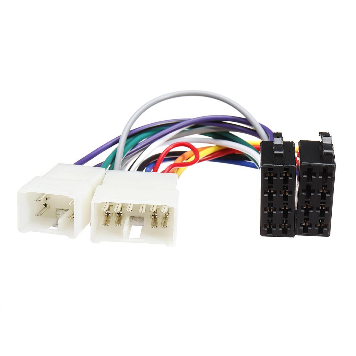 Pioneer 16 Pin ISO Wiring Harness Connector Adaptor Car Stereo Radio Loom PI100